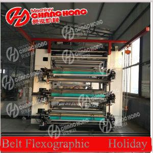 No Tejidos Flexo máquina de impresión y Bolsa que hace la máquina (CH886)