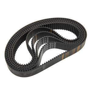 T5 H T2.5 dientes forma material de goma cinta transportadora de distribución