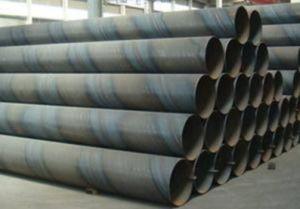 API 5L SSAW Pétrole et gaz des tuyaux en acier soudé en spirale