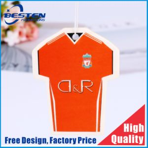 preço de fábrica T pano camisola moldar o logotipo personalizado papel fragrância Ambientador