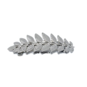 Barrette francese della clip di capelli del foglio del metallo