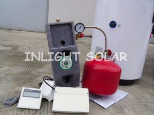 Split calentador de agua solar de alta presión con bobina doble