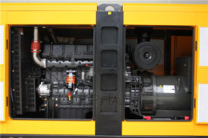 Высокое качество 88Ква Sdec Silent дизельного генератора