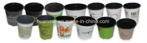 Impressão colorida Flower Pot, personalizado projetado Pot Upc Scanable Pot
