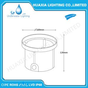 DC12V weiße Farben-wasserdichtes LED vertieftes Licht mit Plastikgehäuse