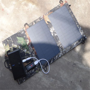 aufladensatz des faltbaren kristallenen Sonnenkollektor-7W