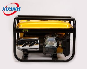 AC 2KW único lado iniciar gerador gasolina 220V com motor Honda