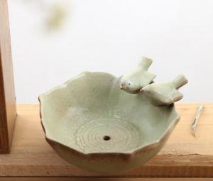 С высоты птичьего полета Shell окрашенные керамики керамические Flower Pot Succulents сеялки