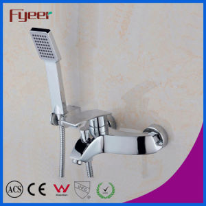 Hand ShowerのFyeer Two Hole Rainfall Shower Faucet Mixer