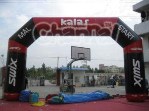 AdvertizingのためのカスタマイズされたInflatable Entrance Arch