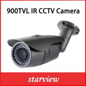 Camera van de Veiligheid van kabeltelevisie van IRL van de Lens van het toezicht 900tvl CMOS Vaste Waterdichte (W14)