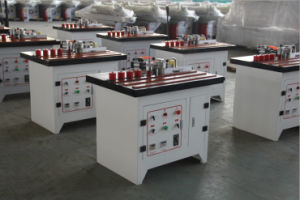 Máquina encoladora de bordes Labortory automático de pequeños equipos con pantalla táctil de doble capa de pegamento de PVC/ Curva portátil de la Franja de borde de la máquina para pieles de máquina de carpintería de madera