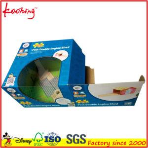 色刷のボール紙か波形の電子工学の製品の荷箱