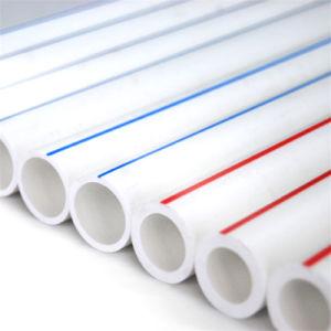 25mm tubo PPR Tuberías de suministro de agua caliente de las Materias Primas Blanco Verde tubo PPR