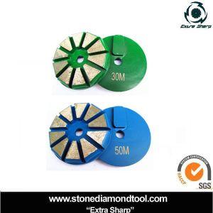 3 pollici 80mm diamante stridente concreto di Terrco di 10 segmenti