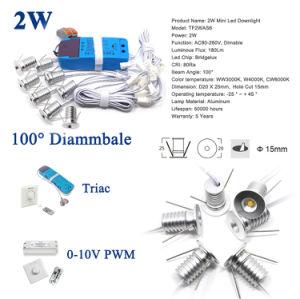220V Mini2w LED Deckenleuchte-Punkt-Schlafzimmer-Wohnzimmer-Beleuchtung