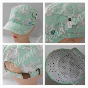(LM15008) LadyのためのWholesale Military Army Cap