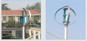 800W 24V/48V de alta eficiencia eléctrica USD Venta de generadores eólicos con la certificación CE