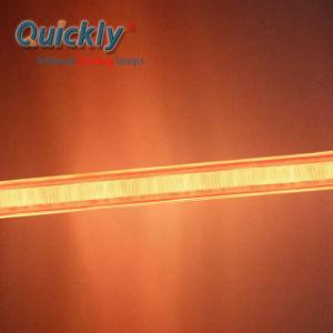 Lâmpada de halogéneo por infravermelhos de aquecimento por infravermelhos bulbo infravermelho onda média da lâmpada de IV
