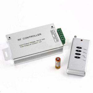 RF sem fios V12-24DC 4 faixa de LED da tecla Controlador RGB LED do controlador