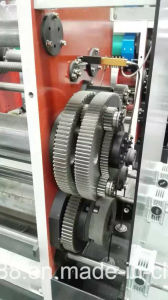 슬롯 머신을 인쇄하는 반 자동적인 물결 모양 상자 Flexo