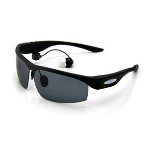 Auscultadores sem fios v4.1 Óculos Bluetooth Lente polarizada Telefones  Fone de ouvido musical de 68dbb6fd72