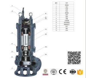 Ahorro de energía de 3 pulgadas de 2,2 Kw Anti-Winding Anti-Clogging estable rendimiento de la bomba de lodo