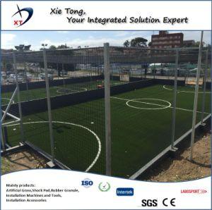 11X11 de las personas de todo el sistema de Campo de fútbol de césped sintético con Shock Pad y Infills