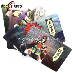 Los juegos de tarjeta de PVC de plástico para Hombres Lobo de Miller's Hollow