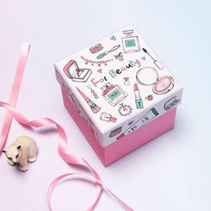 De creatieve Doos van het Suikergoed van het Huwelijk van het Huwelijk van de Doos van de Gift van de Doos van de Gift van de Doos van het Beeldverhaal Vierkante Uitstekende