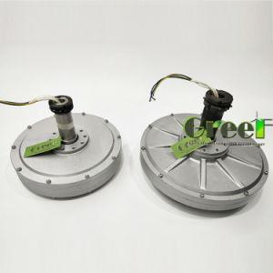 디스크 Coreless Vawt를 위한 축 유출 영구 자석 발전기