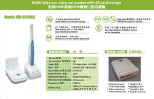 Con la tarjeta SD de alta definición de almacenamiento MD-980asd Wireless Cámara Intraoral