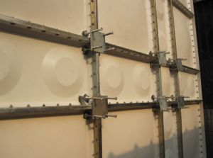 Painel do tanque de água GRP SMC para tratamento de água do tanque de água