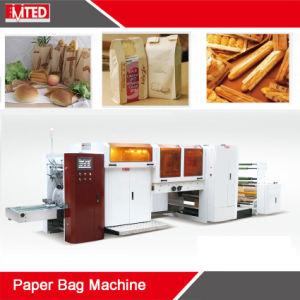 Bolsa de papel automático que hace la máquina