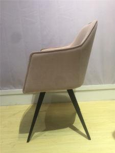 Metallgaststätte-Hotel-Freizeit-Möbel-Gewebe, das Stuhl speist