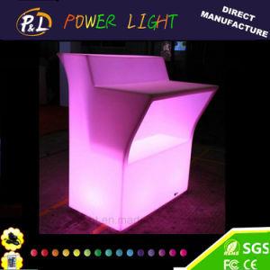 바 가구 LED 바 테이블을 옷을 입는 다색 바 사용