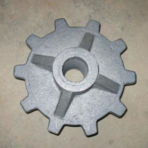 Fundição personalizada Cinzento Aço / cinza / ferro fundido dúctil areia de alumínio de fundição de ferro