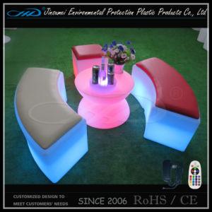 安い価格のプラスチック家具LEDはLEDの腰掛けをメンバーからはずす