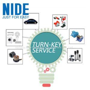 La fabrication du moteur de tourner la clé de service