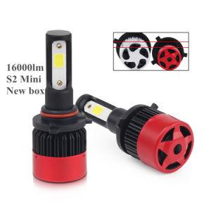 Mini S2 automóviles coche Jefe Bombillas H7 H11 de 16000LM Auto faros LED H4 H7 LED