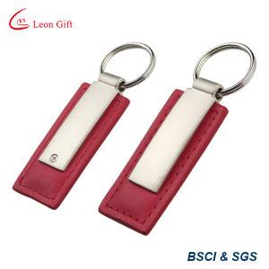 공장 놓이는 도매 승진 가죽 Keychains 선물