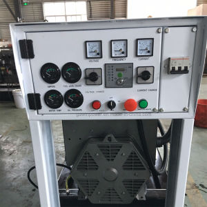 120kVA電力の無声タイプディーゼル生成セット