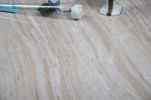 建築材料800*800mmの十分に艶をかけられた磨かれた磁器の床タイル、大理石のコピーの陶磁器の床タイルJm8a802