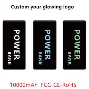La Banca di potere del telefono mobile di FCC/Ce/RoHS 10000mAh con il marchio d'ardore