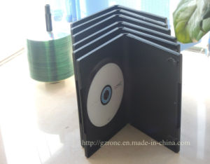7mm DVD simple/doble funda con apretado bloqueado