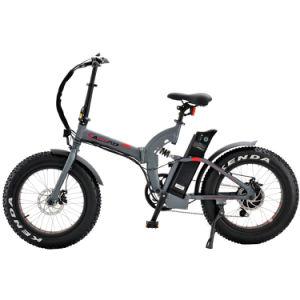 Mini Folding bicicleta eléctrica 500W dobrável e aluguer de homologação CE Pneu Gordura Elevadores eléctricos de aluguer com crianças