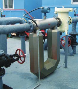 Tipo Coriolis do revestimento medidor de fluxo em massa para Visicosity elevado