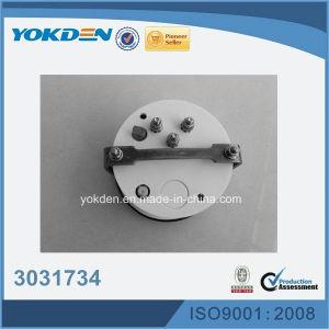 3031734 24VDC 85mm de color blanco del tacómetro del motor Diesel