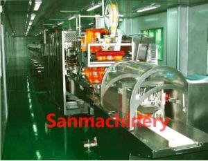 Высокая скорость автоматической влажных салфеток производственной линии