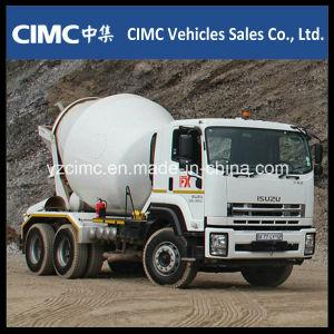 Isuzu Qingling Vc46 Mischer-LKW mit Becken des Mischer-8-12 M3
